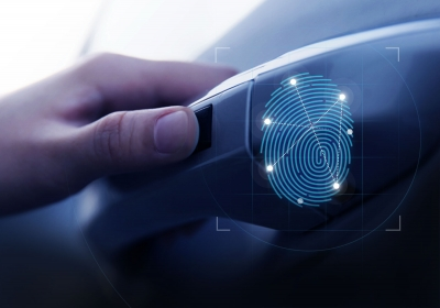 Finger print technology - start your car with your finger print